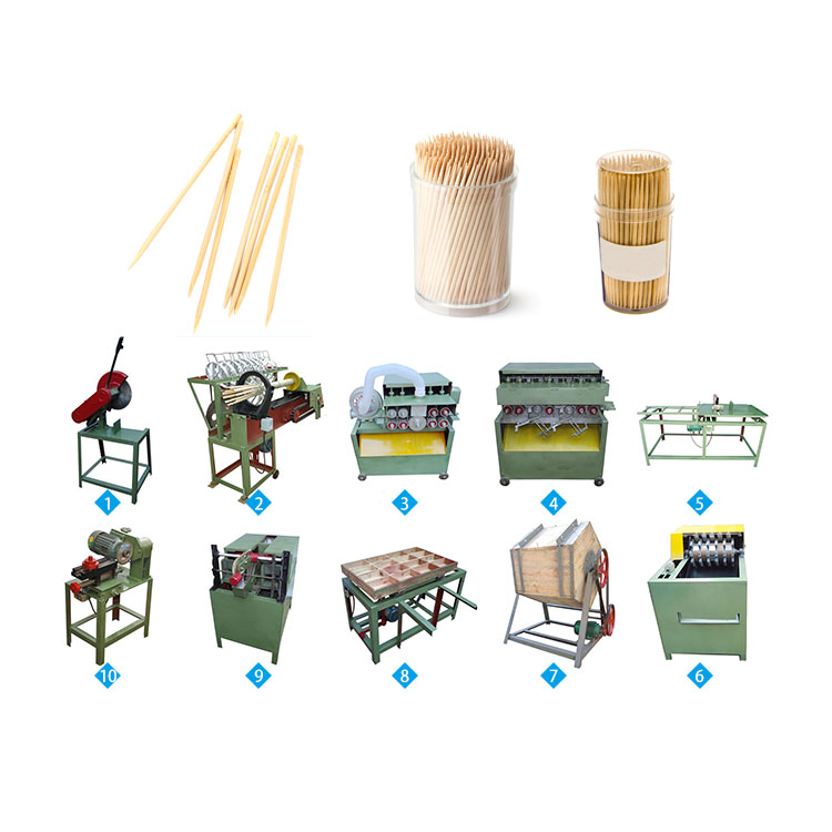 professional toothpick processing plant